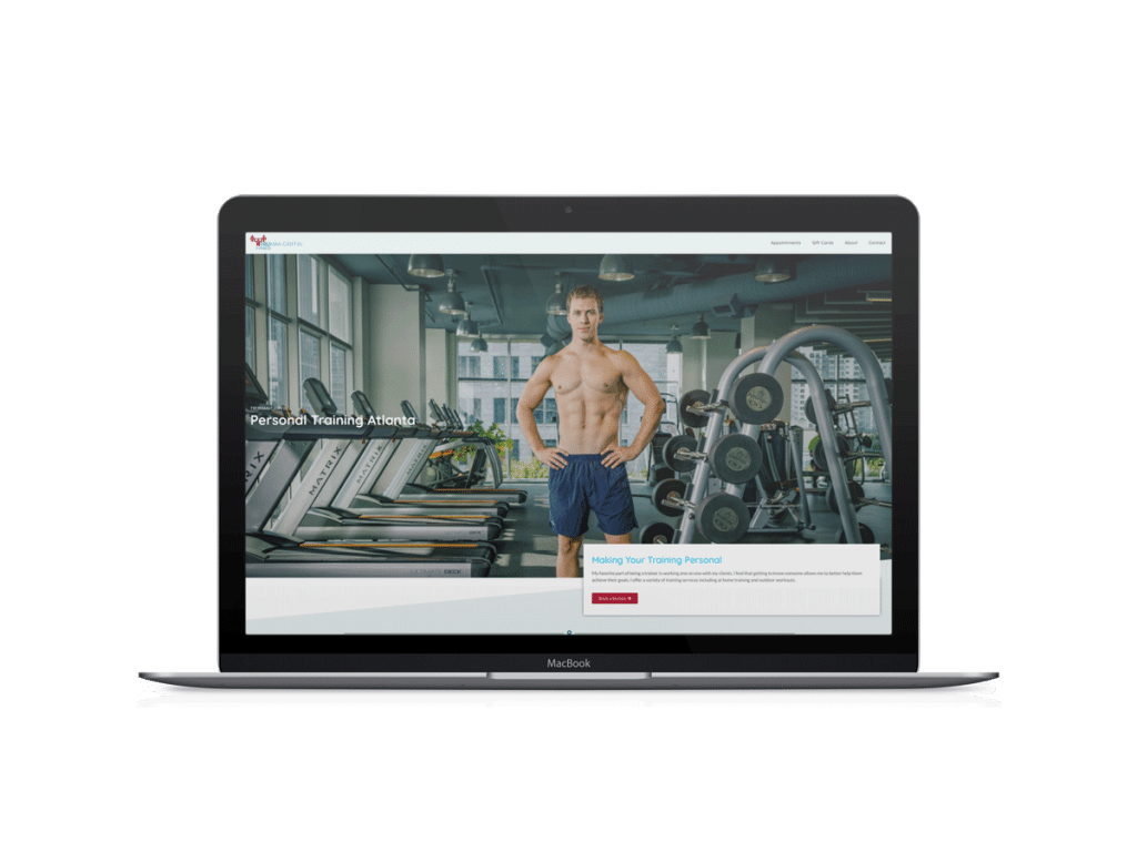 personal trainer website truman griffin fitness